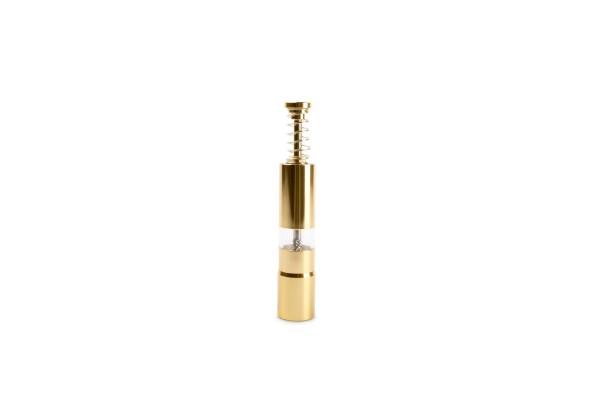 Salz / Pfeffermühle gold 2,5xH15 cm