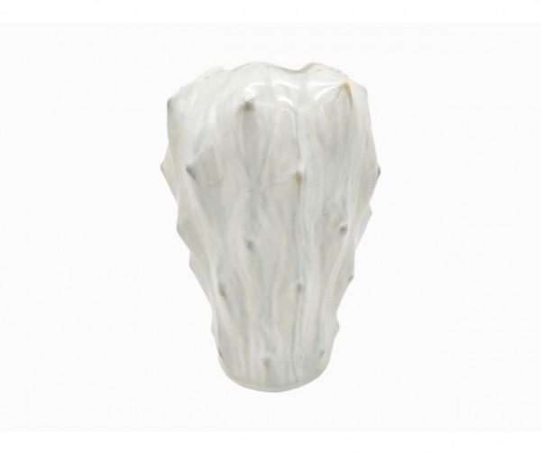 Vase Lora weiss gross H27 cm
