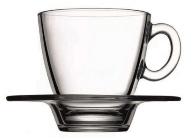 Pasabahce Aqua Espresso tassen 6 er Set