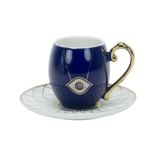 Nazar Kaffeetassen für 6 Personen Evil Eye