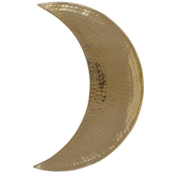 Wanddekoration Moon gold