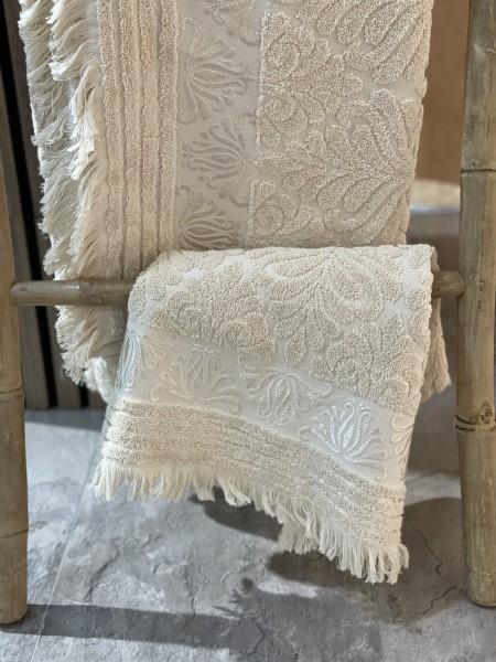 Nurpark Duschtuch 100% Baumwolle taupe 90x150 cm