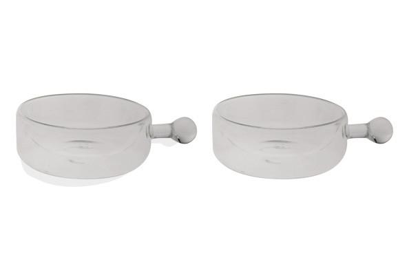 Isolate Bowl mit Henkel doppelwandig 2er Set Schälchen