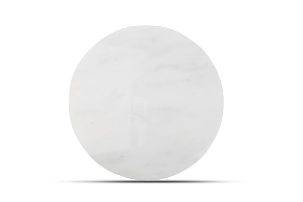 Marble Servierplatte rund Marmor 30 cm