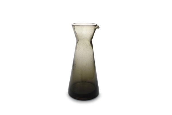 Glas Karaffe smoked Drip khaki 99cl