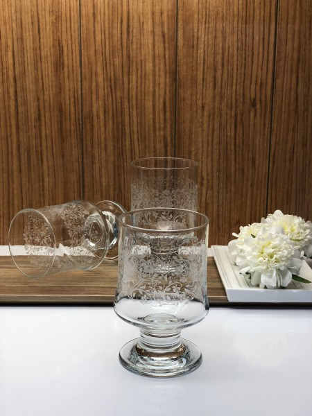 Trinkglas 3er Set Sarmasik Serie Eisbecher