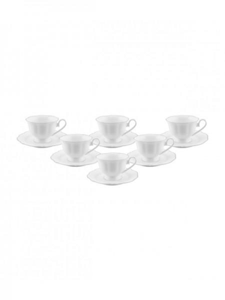 Lecci Porzellan Kaffeetassen 12 tlg.