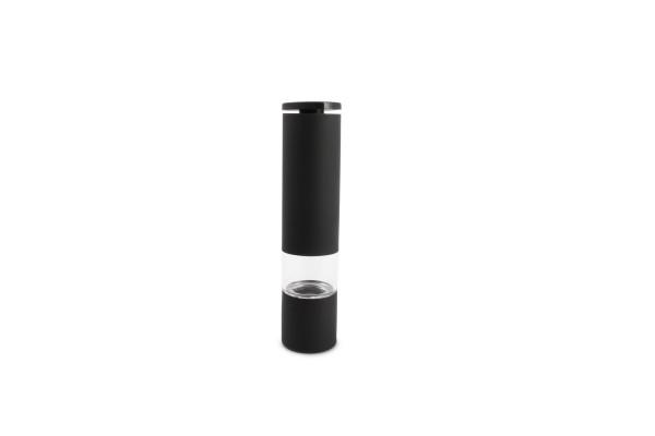 Salzmühle Pfeffermühle schwarz matt Space H21,5 cm