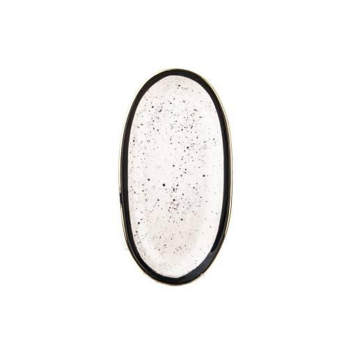 Marianna Black tropic schwarz mini Platte 19 cm