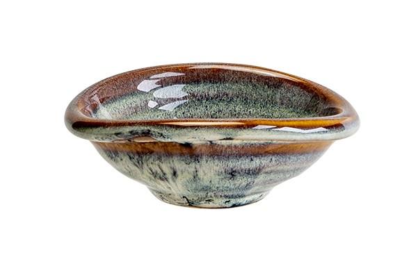 Amber oval Schälchen 10x8,5xH 3,6 cm Ararat