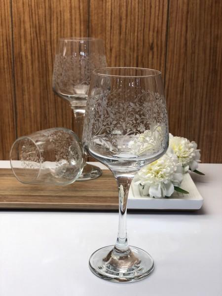 Trinkglas mit Stiel 3er Set Sarmasik Serie