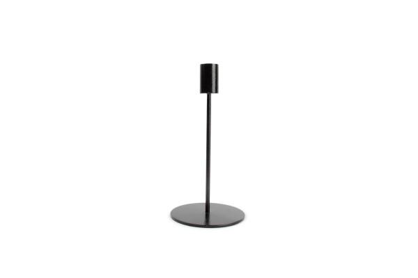 Kerzenständer schwarz pillar Black 10xH20 cm