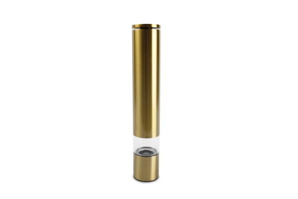 XL Salzmühle Pfeffermühle Gold Space H 28,5 cm