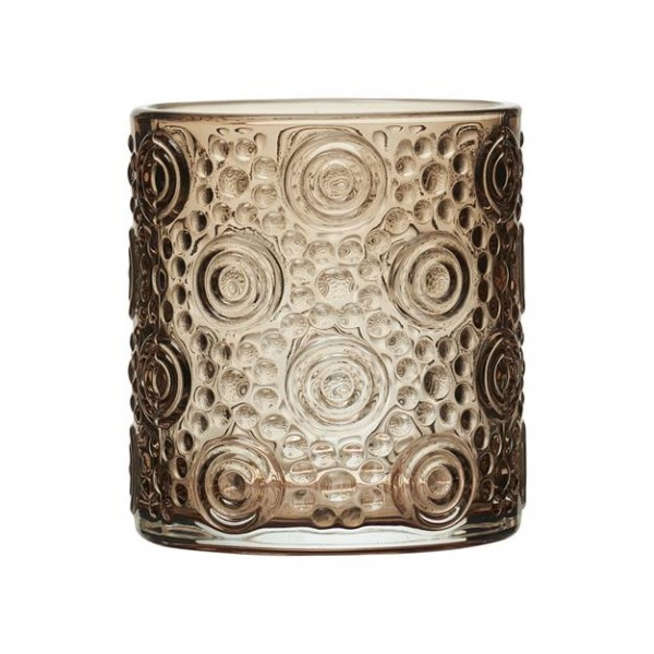Kerzenhalter Braun Tano 7x H8 cm
