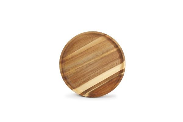Servierbrett Palla rund 20xH1,5 cm Holz Akazienholz