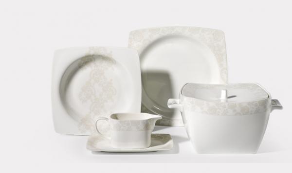 korkmaz bone selection tafelservice a8418 geschirrset f r. Black Bedroom Furniture Sets. Home Design Ideas