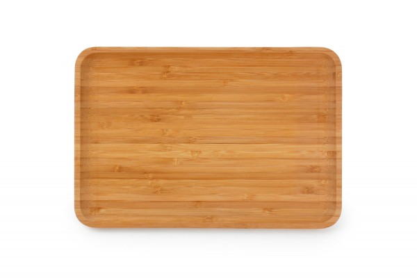 Bambus Tablett rechteckig 32x24 cm Servierbrett