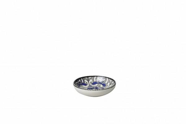 Marrakesch Black Mini Schälchen 7,5x H 2,2 cm schwarz blau