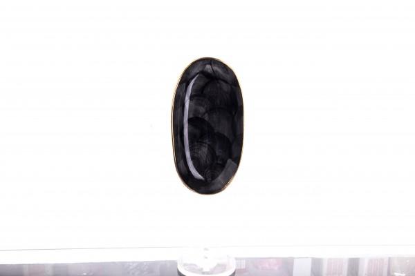 Marianna Bulut mini Platte 19 cm schwarz