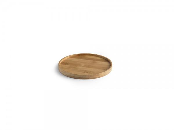 Bambus Teller rund klein 15 cm