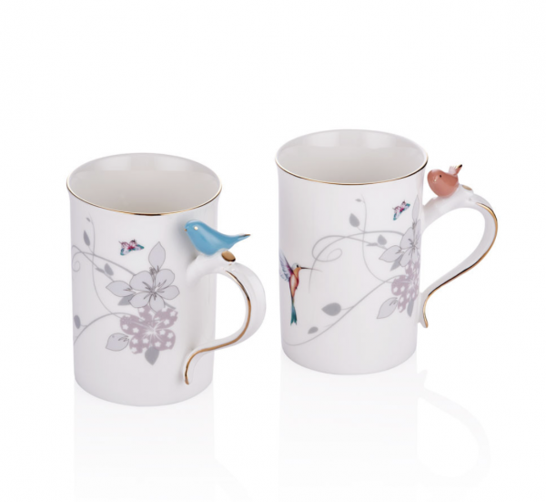 Bird Serie Kaffeebecher 2 er Set