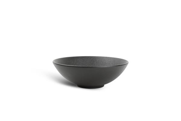Black Dusk Bowl Schüssel 18xH6cm schwarz