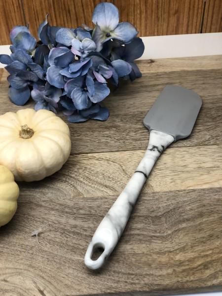 Marble Küchenhelfer Teigschaber Silikon Marmor