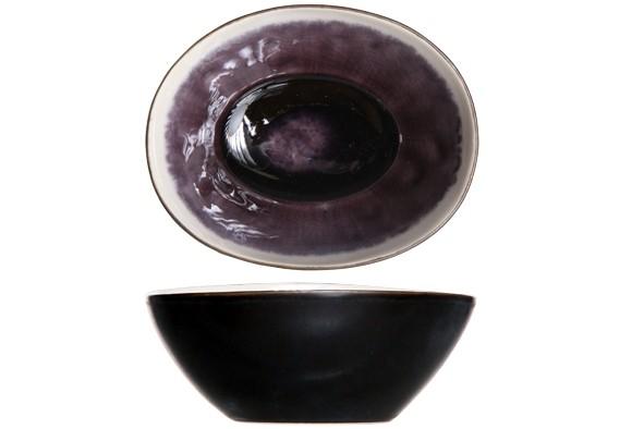 Schälchen Laguna Viola schwarz
