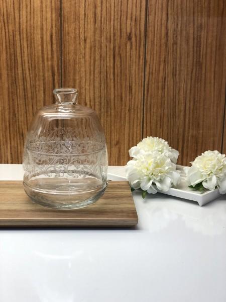 Zuckerdose aus Glas Sarmasik Serie Bonboniere