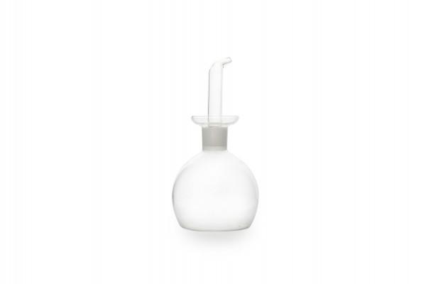 Essig / Ölflasche aus Glas kugelrund 0,545L