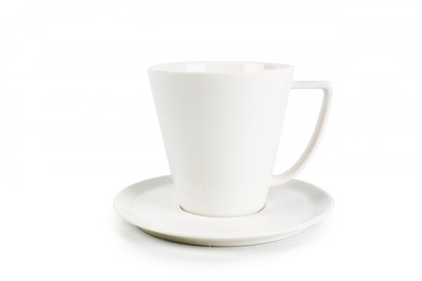 Kaffeetasse mit Unterteller Eon
