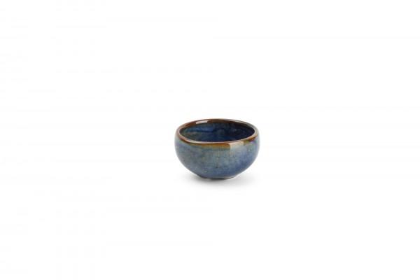 Schälchen 6,5xH3 cm Nova Blau