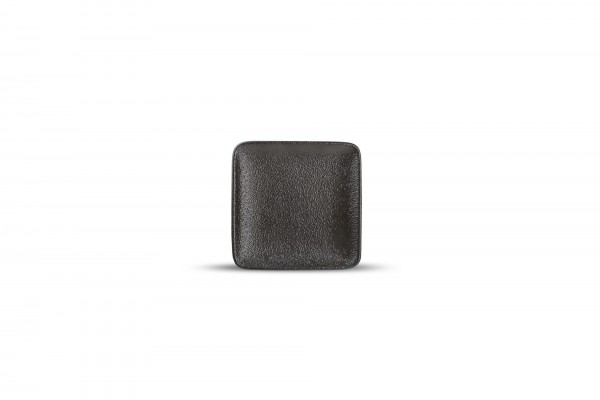 Black dusk Mini Teller 10x10 cm Schwarz