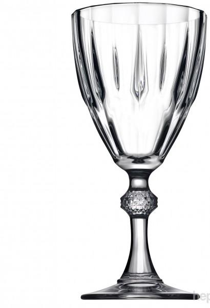 Pasabahce Diamond Wassergläser mit Stiel 6er Set Weinglas