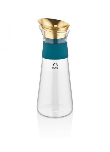 Neva Sweet Menthol Glas Karaffe Gold N2634