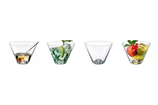 Glasschale 4er Set Schälchen 0,40L drinkmaster