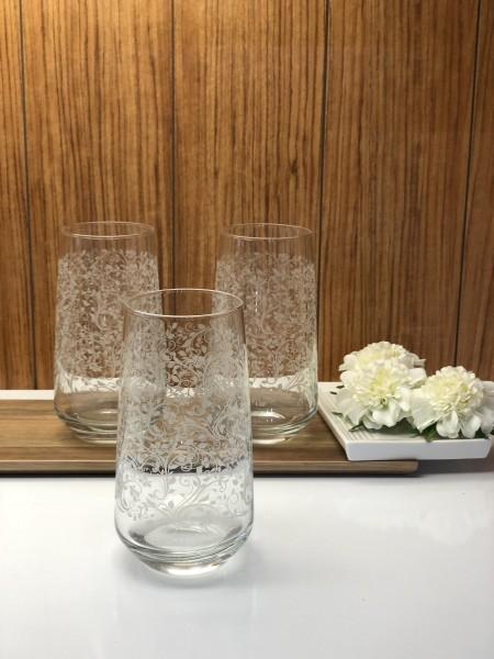 Trinkglas 3er Set Longdrink Sarmasik Serie
