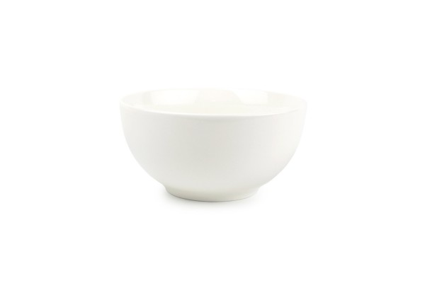 Müslischale weiss New Ming Schüssel Porzellan 14 cm