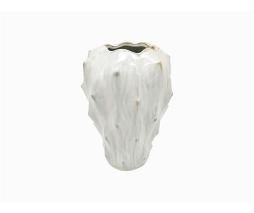 Vase Lora weiss H23,5cm
