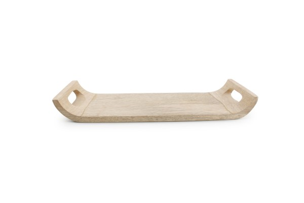 Holz Tablett mit Griff 40x15xH4,5 cm