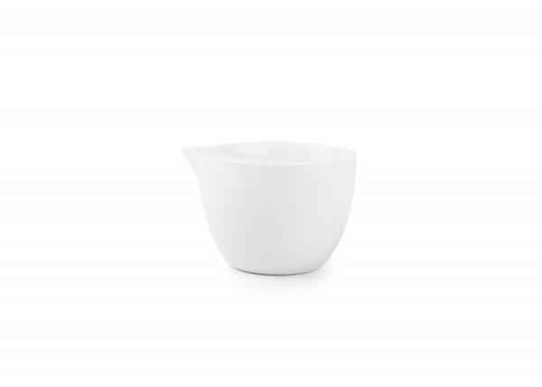 Porzellan Milchgiesser 0,10L ohne Henkel Nola