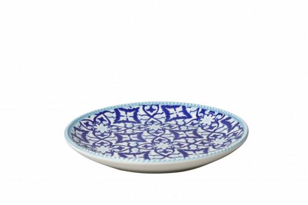 Marrakesch Blue Teller 20 cm