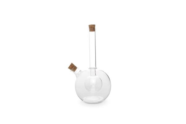 Öl- und Essigflasche doppelwandig 2 in 1