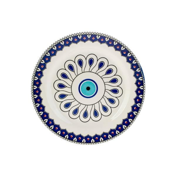 Karaca Mai Selcuk Porzellan Servierteller Nazar 26,6 cm