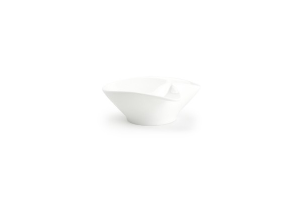 Porzellan Schüssel mit Griff Snackschälchen