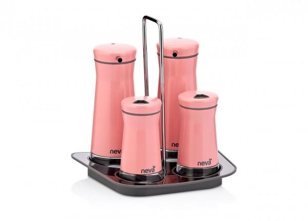 Neva Sweet Serie rosa 5-tlg Menage Essig N2400