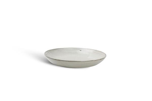 Salatschüssel Pastateller Ceres grau 24,5xH4cm