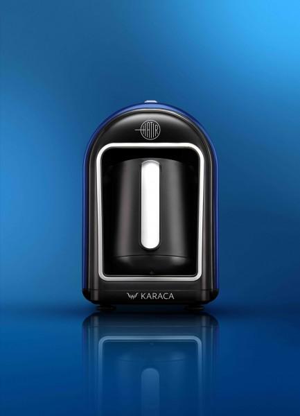 Karaca Hatir Mokka Maschine türkischer Kaffeekocher blau