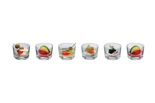 Dessertgläser 6er Set Bodega mini Gläser