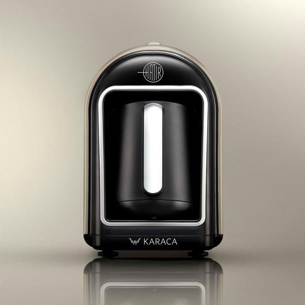 Karaca Hatir Mokka Maschine türkischer Kaffeekocher taupe beige